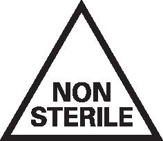 Non-sterile