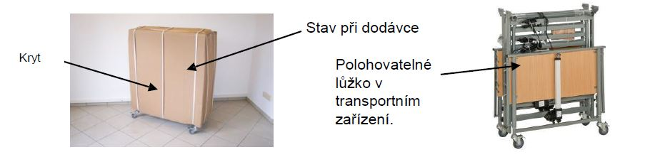 lůžko transport